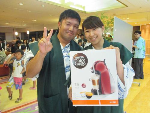 2015年8月15日開催ビンゴゲーム大会 当選者