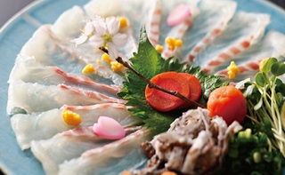 桜鯛のお造り