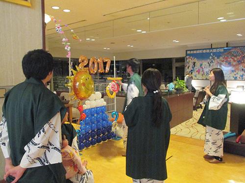 2017年新春バルーンアート
